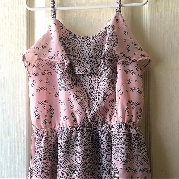 Pink Flow dress
